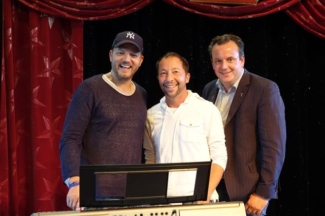 Mario Barth, DJ Bobo und Michael Mack. Bild: Europa-Park
