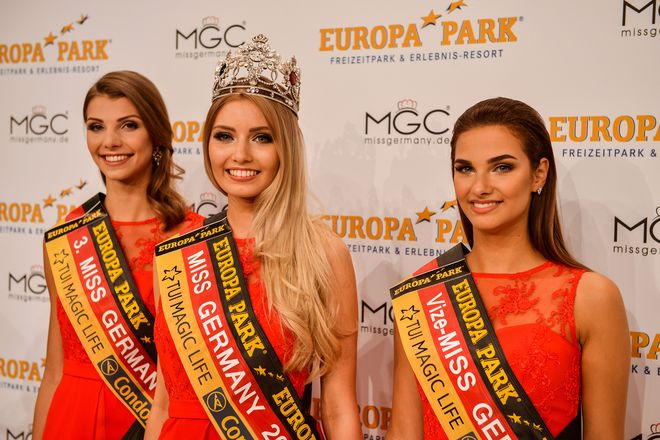 Die Wahl zur Miss Germany im Europa-Park. Bild: Europa-Park
