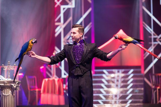 Sergey Stupakov - der Meister der Magie. Bild: Europa-Park