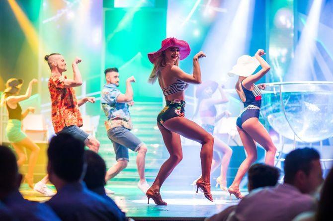 Europa-Park Showballett bei der Dinnershow. Bild: Europa-Park