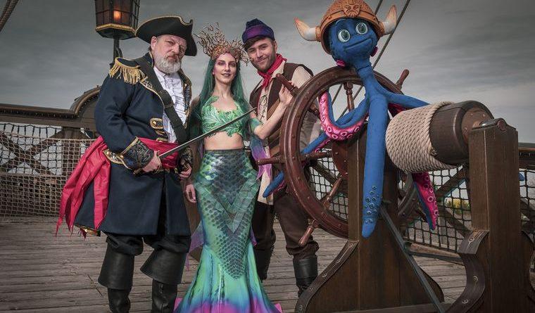"""Der Cast von """"Rulantica - The Musical"""". Bild: Europa-Park"""