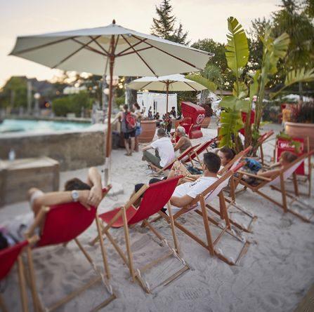 """""""Rulantica Beach Club"""" lädt zum Entspannen ein. Bild: Europa-Park"""