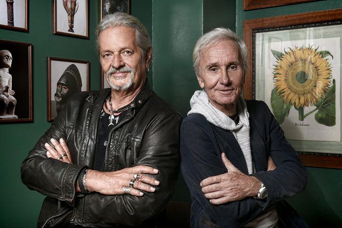Thomas Spitzer und Klaus Eberhartinger von der EAV. Bild (c) Dominik Beckmann