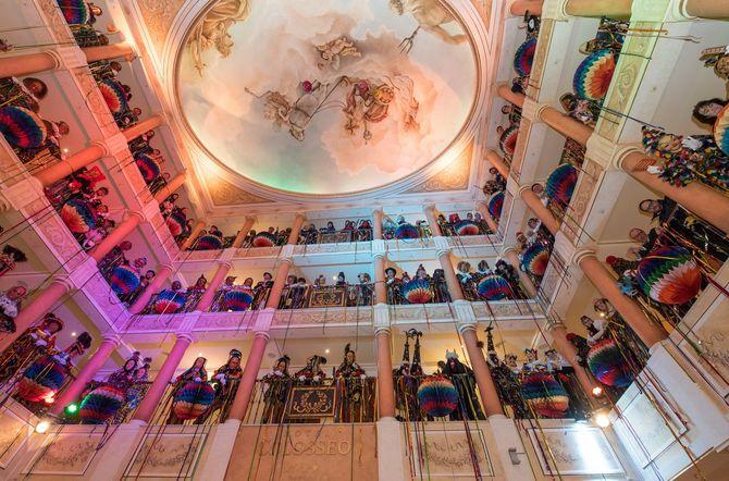 Narri-Narro im Europa-Park: Die Goldene Narrenschelle wird wieder einmal verliehen! Bild: Europa-Park
