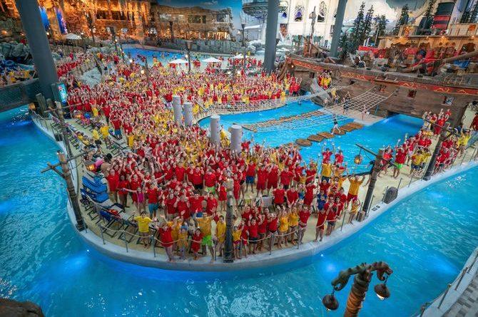 3.400 Mitglieder kamen am 23. November zum größten Treffen der DLRG zusammen. Bild: Europa-Park