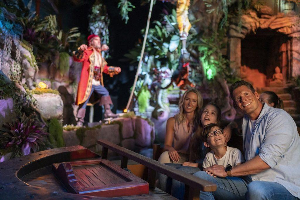 """Wie das Original, nur noch schöner! Die """"Piraten in Batavia"""" sind wieder da. Bild: Europa-Park"""