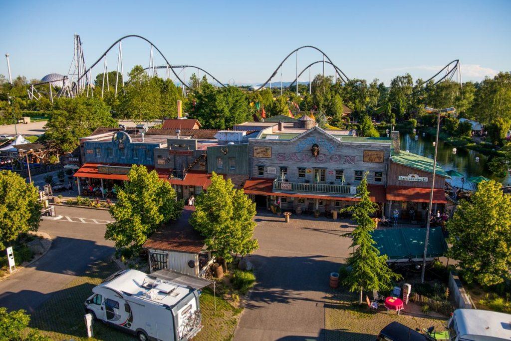 Das Europa-Park Camp Resort befindet sich in unmittelbarer Nähe von Deutschlands größtem Freizeitpark. Bild: Europa-Park