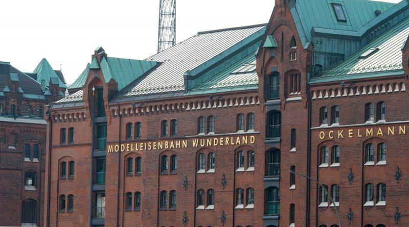 Die Fassade des Miniatur Wunderlandes in der Hamburger Speicherstadt. Bild: Miniatur Wunderland