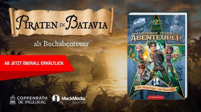 Die fliegende Schule der Abenteurer – Der Feuertiger von Batavia (Offizieller Buchtrailer)