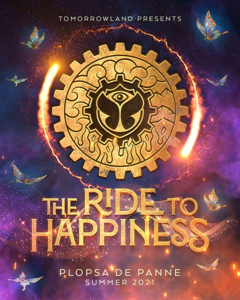 "Tomorrowland und Themenparkgruppe Plopsa kündigen Europas spektakulärste Achterbahn an: ""The Ride to Happiness by Tomorrowland"", konstruiert von Mack Rides"