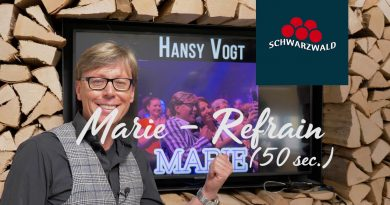 Hansy Vogt – Marie (Refrain)