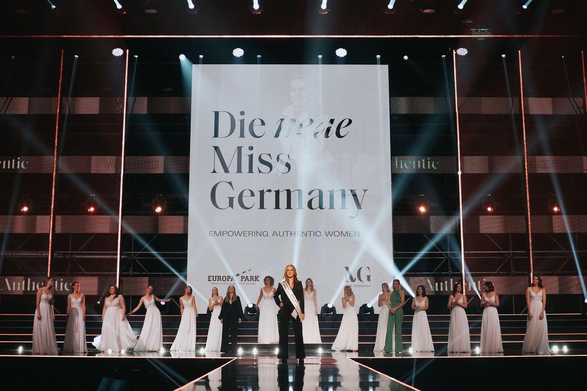 Anja Kallenbach ist Miss Germany 2021. Bild: Europa-Park