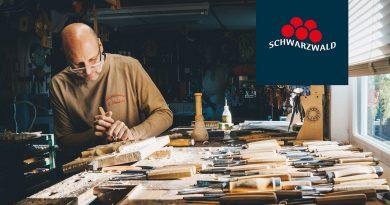 Dorfurlaub – Beim Holzbildhauermeister Gerhard Schmieder in Schonach
