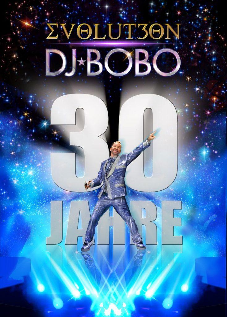 EVOLUT30N – Die große DJ BoBo-Tour 2023 zum 30-jährigen Bühnenjubiläum mit Weltpremiere im Europa-Park